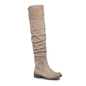 ShoeDazzle Neira Over the Knee Boots